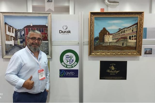 ÜNYE MÜNYETÜR SANATI'NA CNR EXPO 2021 DE YOĞUN İLGİ