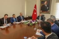 ''MÜSPET'' KAPSAMINDA HAZIR GİYİM SEKTÖRÜ TOPLANTISI YAPILDI