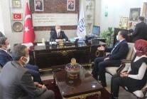 MHP ORDU BAŞKANI ŞANLITÜRK ÜNYE'Yİ ZİYARET ETTİ