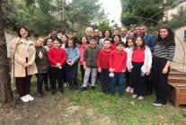 Ünye Anafarta İlkokulu Minik Elleri Toprakla Buluştu