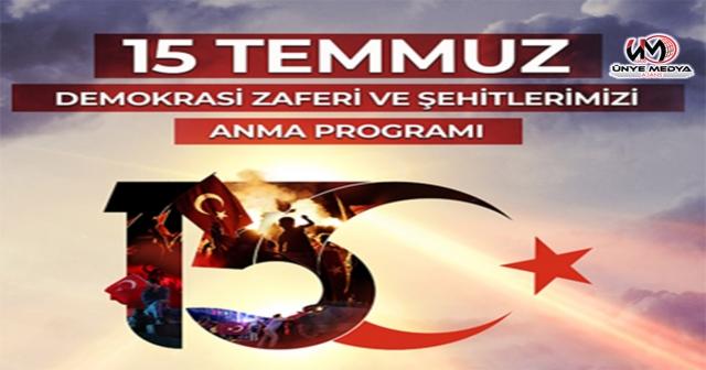 """""""15 TEMMUZ DEMOKRASİ VE MİLLİ BİRLİK GÜNÜ"""""""