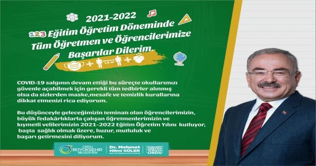 """2021-2022 EĞİTİM ÖĞRETİM YILINI KUTLUYOR, HUZUR, MUTLULUK VE BAŞARI GETİRMESİNİ DİLİYORUM """""""