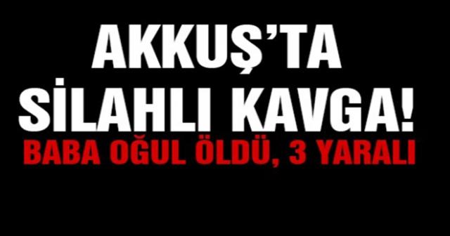 KAVGADA SİLAHLAR ÇEKİLDİ 2 KİŞİ ÖLDÜ 3 YARALI