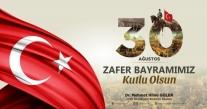 """""""30 AĞUSTOS ZAFERİ, YOK EDİLMEK İSTENEN BİR MİLLETİN YEDİNEN DOĞUŞUDUR"""""""