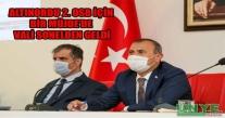 ALTINORDU 2. OSB İÇİN BİR MÜJDE'DE VALİ SONELDEN GELDİ.