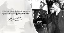 BAŞKAN SEVİNDİK DİKTEPE DEMİR '' 24 KASIM ÖĞRETMENLER GÜNÜ KUTLU OLSUN ''