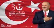 """BAŞKAN TAVLI """"30 AĞUSTOS ZAFERİ, CESARETİN VE FEDAKÂRLIĞIN SİMGESİDİR"""""""