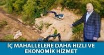 BAŞKAN TAVLI '' DAHA HIZLI VE EKONOMİK HİZMET''