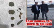 ÇAYBAŞI'NDA  ROMA DÖNEMİ'NE AİT SİKKELER  BULUNDU
