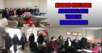 CHP ÜNYE KADIN KOLLARIN KOLLARI'INDAN AVUKATLARA GÜNÜ ZİYARETİ