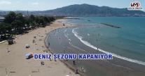 DENİZ SEZONU KAPANIYOR
