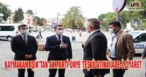 KAYMAKAM IŞIK'TAN AK PARTİ ÜNYE TEŞKİLATINA İADE-İ ZİYARET