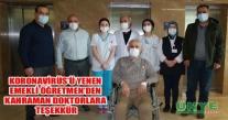 KORONAVİRÜS'Ü YENEN EMEKLİ ÖĞRETMEN'DEN KAHRAMAN DOKTORLARA TEŞEKKÜR