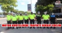 MOTOR KURYELERİNE TRAFİKTE DİKKAT EDELİM