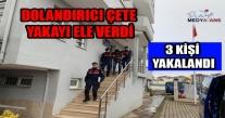 Ordu'da Dolandırıcı Çeteye  Operasyon 3 Kişi Yakalandı