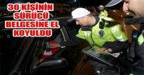 ORDU'DA TRAFİK KAZASIN'DA BİR HAFTA'DA 36 KİŞİ YARALANDI