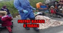 TEKKİRAZ'DA PAT PAT FACİASI