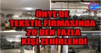 Tekstilde Dezenfekte 20 Den Fazla İşçiyi Zehirledi