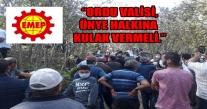 TEPKİLER ÇIĞ GİBİ BÜYÜYOR ''JANDARMA VE POLİSİN ŞİDDETİ KABUL EDİLEMEZ''