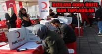 ÜNYE ARİF NİHAT ASYA LİSESİ'NDEN KIZILAYA 4065 ÜNİTE KAN TOPLADILAR