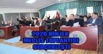 Ünye Belediyesi 2020 Nin İlk Meclis Toplantısını Gerçekleştirdi.