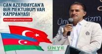 ÜNYE'DEN ''SELAM SANA CAN AZERBAYCAN''