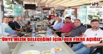 """""""ÜNYE'MİZİN GELECEĞİNİ İÇİN, HER FİKRE AÇIĞIZ"""""""