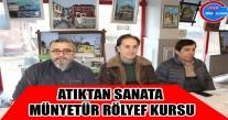Ünye'nin Sanatı Münyetür' Doka Doka Desteği.