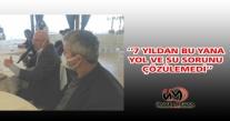 ÜNYE'NİN YEŞİLKENT MAHALLESİ 7 YILDIR SU BEKLİYOR