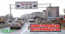 ÜNYE SANAYİ KAVŞAĞI'NA NEŞTER VURULUYOR.