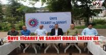 ÜNYE TİCARET VE SANAYİ ODASI, İKİZCE'DE