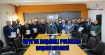 Ünye'de Başarılı Polislere 'Başarı Belgesi