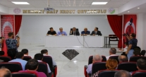 ÜNYE'DE ÖĞRENCİLER İÇİN OKUL GÜVENLİĞİ TOPLANTISI YAPILDI