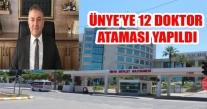 ÜNYE'YE 12 DOKTOR ATAMASI YAPILDI
