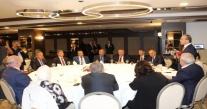 VALİ YAVUZ, ''KEİPA '' ÜYELERİ İLE YEMEKTE BİR ARAYA GELDİ