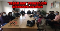 ''YAŞAM HAK'' PROJESİ İÇİN ÜNYE'DE BİRARAYA GELDİLER