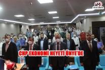 CHP EKONOMİ MASASI HEYETİ ÜNYE'DE